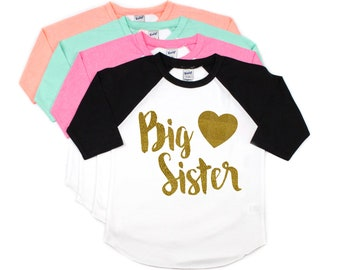 Big Sister Shirt, Pregnancy Announcement