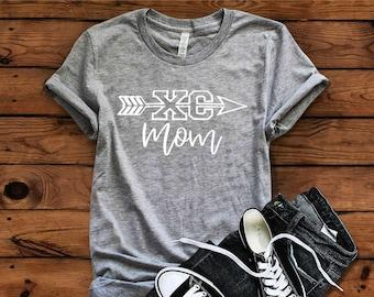 Cross Country Mom T-shirt, XC Mom