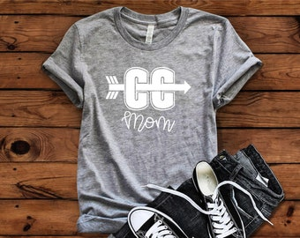 Cross Country Mom, CC Mom, XC Mom, Cross Country Mom Shirt, Cross Country Mom Tshirt, Sports Mom, Cross Country, XC