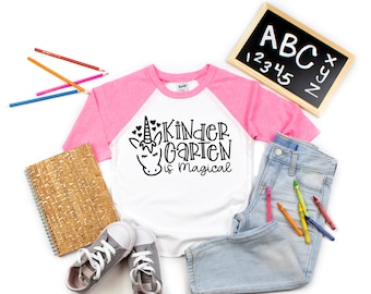 Kindergarten Shirt, Back to School Shirt