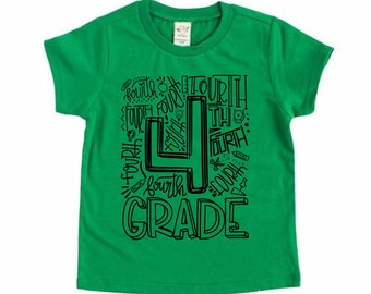 4th Grade Shirt, Back to School Shirt
