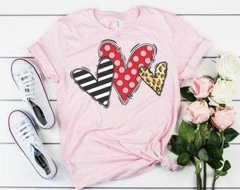 Valentine Shirts Infant and Toddler Sizes