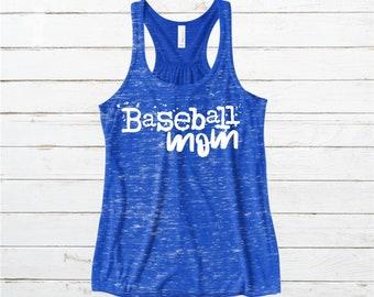 Baseball Mom Flowy Tank Top