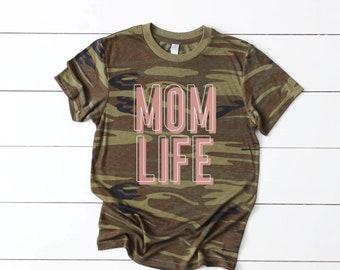 Mom Camo T-shirt