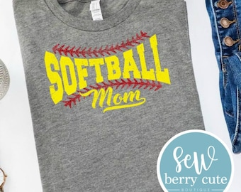 Softball Mom Shirt, Softball Love