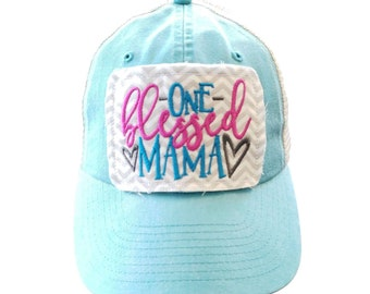One Blessed Mama Hat, Mom Hat