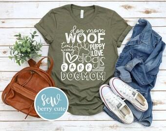 Dog Mom, Graphic T-shirt