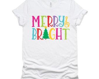 Merry & Bright Short Sleeve T-shirt