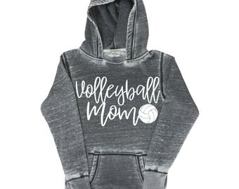 Volleyball Mom Shirt, Volleyball  Mom Hoodie, Volleyball  Mom, Volleyball Sports Mom, Volleyball