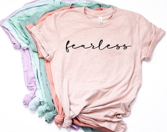 Fearless, Christian T-Shirt