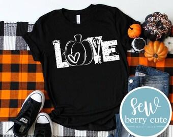 Love Pumpkin, Women's Graphic Tee