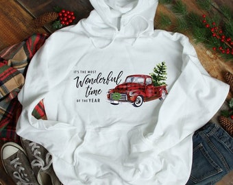 Most Wonderful Time of Year, Christmas Shirt or Hoodie