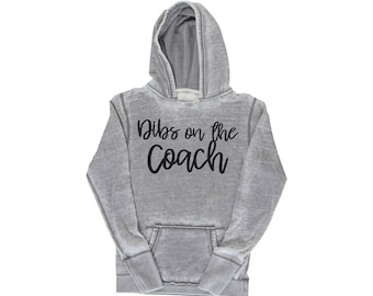 Dibs on the Coach, Hoodie, Coaches Wife