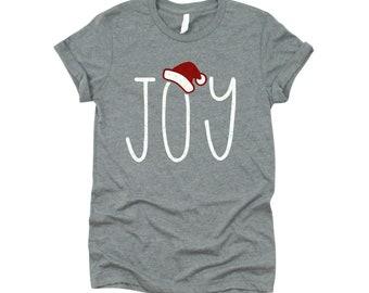 Joy T-shirt, Christmas T-shirt