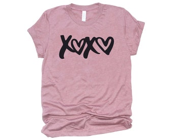 Women's Valentine Shirt, XOXO