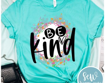 Be Kind T-Shirt Adult & Kids