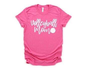 Volleyball Mom Shirt, Volleyball  Mom T-Shirt, Volleyball  Mom, Sports Mom, Volleyball