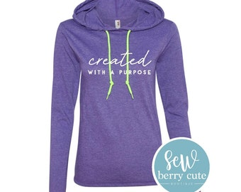 Created with a Purpose Hooded Tee