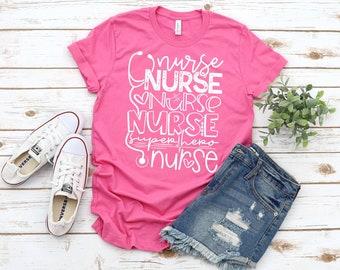 Nurse T-shirt, Superhero