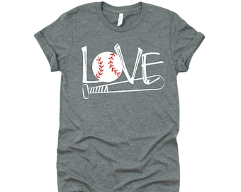 Baseball Mom T-Shirt, Baseball Love