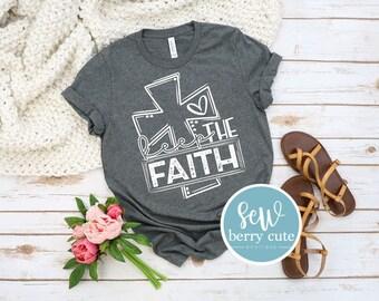 Keep the Faith T-shirt, Christian T-Shirt, Faith T-shirt