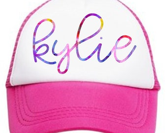 Personalized Youth Hat, Snap back