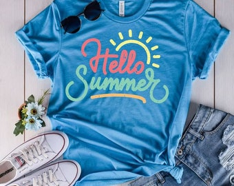 Hello Summer T-shirt, Women's T-shirt