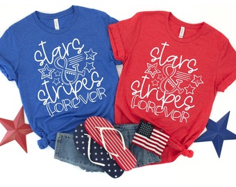 Stars and Stripes ForeverT-Shirt, ADULT & YOUTH