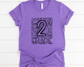 Teacher Shirt, 2nd Grade Shirt