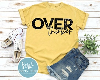 Over Thinker, Graphic T-Shirt