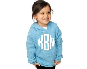 Monogrammed Hoodie, Toddler, Youth, Adult