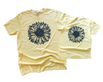ADULT Sunflower T-shirt