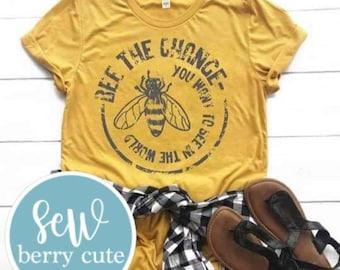 Bee the Change UNISEX T-shirt