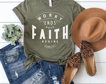 Worry Ends Where Faith Begins