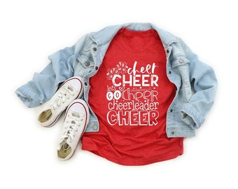 Cheer Tee,  Toddler and Youth