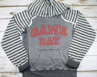 Game Day Hoodie, Football Sweatshirt, Sports Hoodie