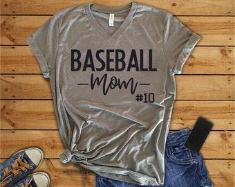 Baseball Mom Shirt, Baseball Mom T-shirt, Baseball Mom, Baseball Sports Mom, Baseball