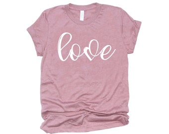 Women's Valentine Shirt, Love Shirt