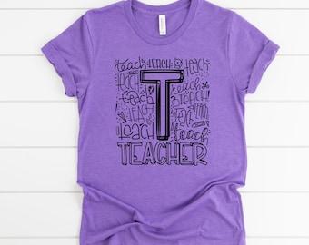 Teacher Shirt, Teacher squad