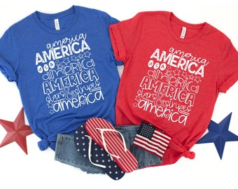 America T-Shirt, ADULT & YOUTH