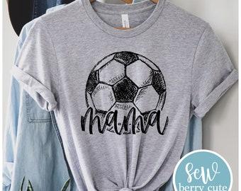Soccer Mama Shirt, Soccer Mom, Soccer Mom T-shirt, Sports Mom, Soccer