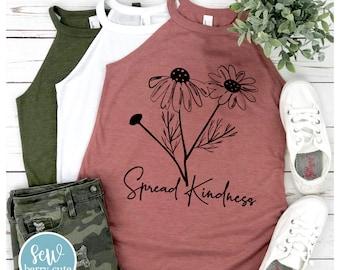 Spread Kindness Rocker Tank Top
