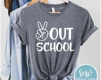 Peace Out School T-Shirt