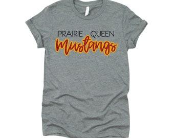 Prairie Queen Mustangs with Glitter