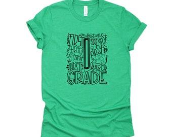 Teacher Shirt, 1st Grade Shirt