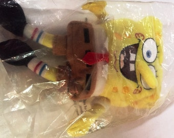 Vintage Spongebob Squarepants Original Talking Slammer Kool Aid 1990's NIP