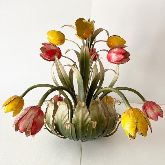 Italian Tulip Spray Chandelier