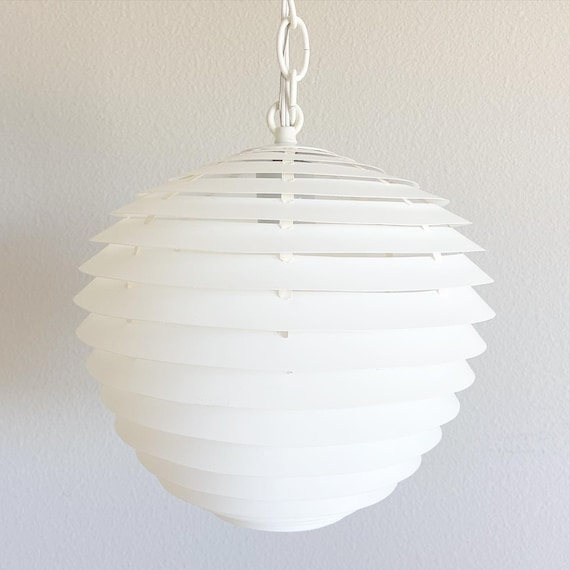 1960s Danish Modern Pendant Light