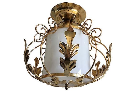 1950s Acanthus Lantern