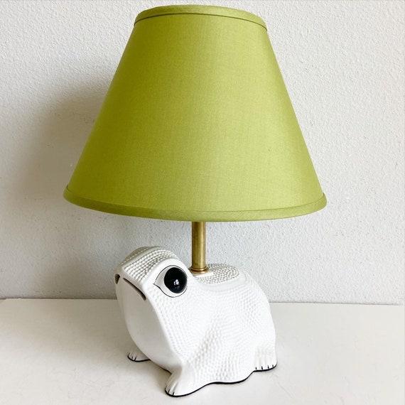 1950s Italian Frog Lamp & Shade